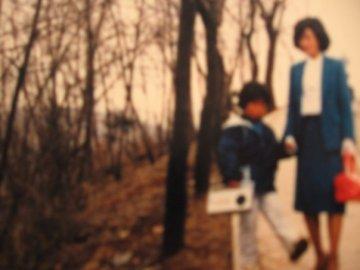Me and mom - circa 1983(?)