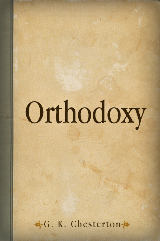 Chesterton - Orthodoxy cover