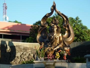 Statue of Thích Quảng Đức in Vietnam