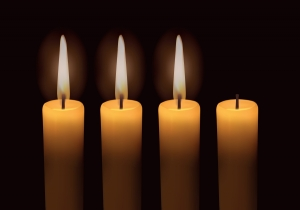 advent 3 candles
