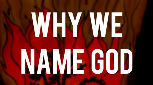 why we name god